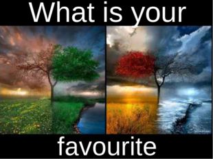 What is your favourite season?