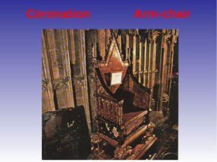 Coronation Arm-chair