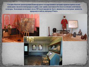 Сегодня объектом демонстрации Нижегородского государственного историко-архите