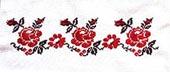 Церковная вышивка. розы