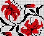 Церковная вышивка. лилии