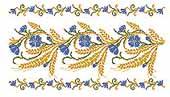 Церковная вышивка. хлебосольный рушник