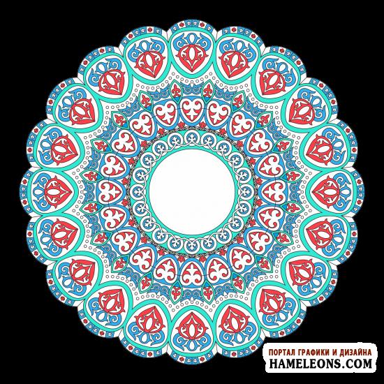 Казахстанский орнамент. Авторская работа