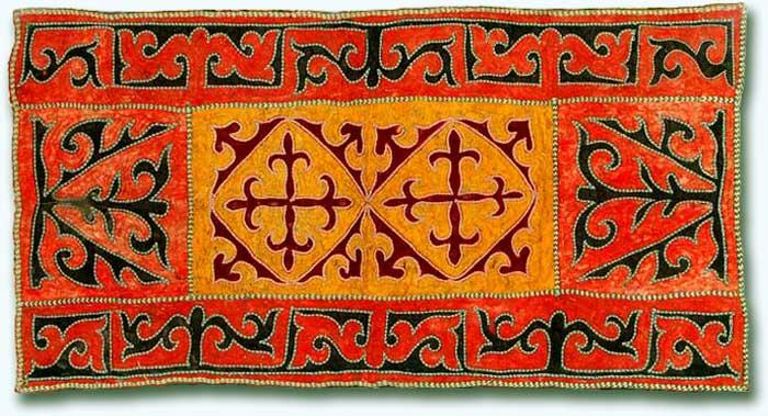 Диковенные ковры Средней Азии