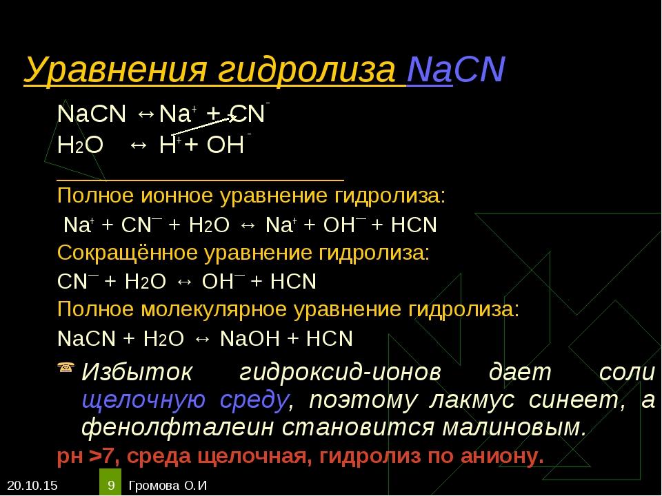 Рассмотрим гидролиз ацетата калия