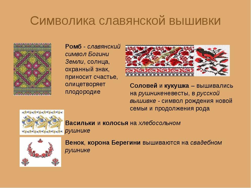 Славянская вышивка символ 31