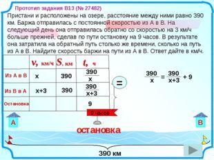 390 км Пристани и расположены на озере, расстояние между ними равно 390 км.