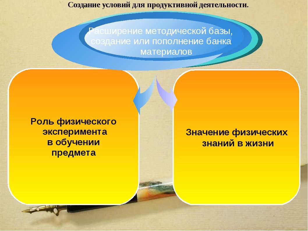 Значение физических знаний в жизни Роль физического эксперимента в обучении п...