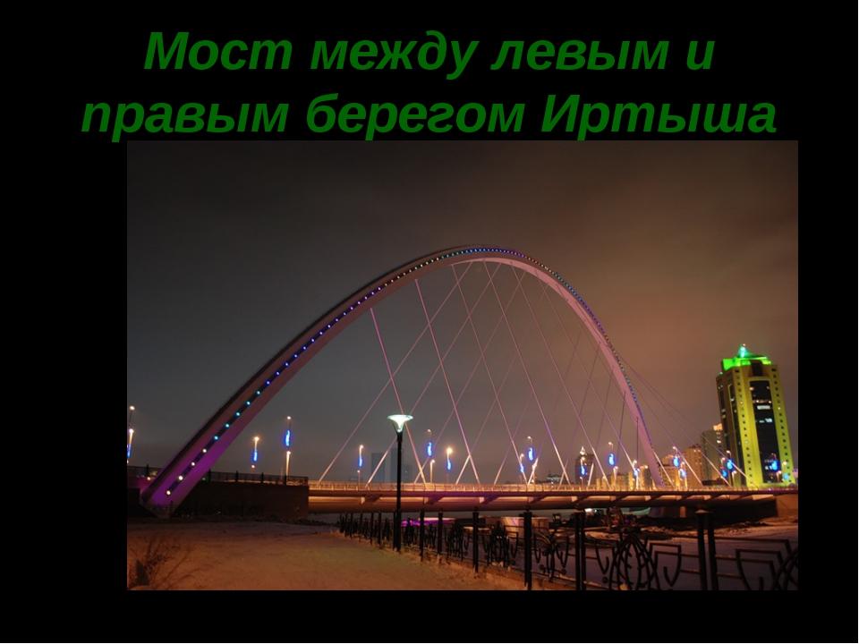 Мост между левым и правым берегом Иртыша