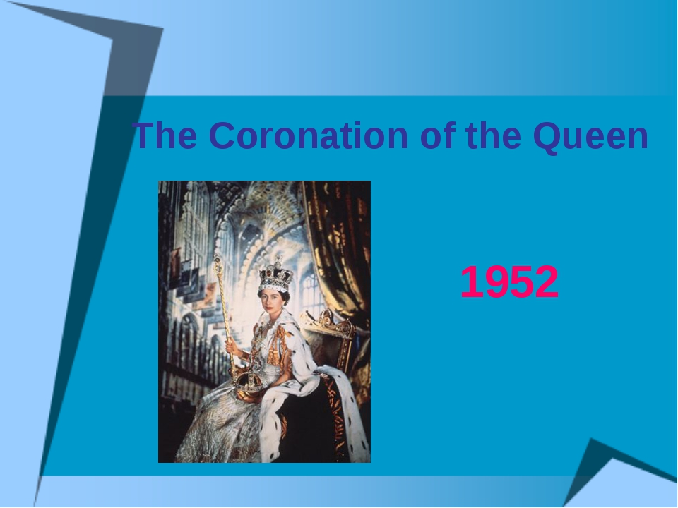 The Coronation of the Queen 1952