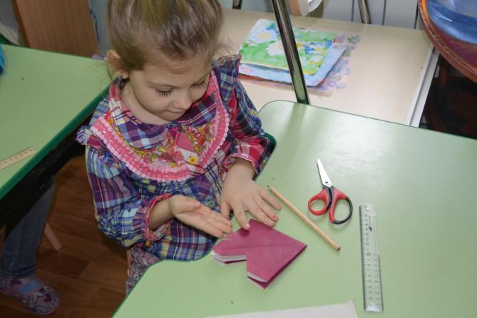 Конспект НОД по конструированию в подготовительной группе «Рыбка в технике оригами»