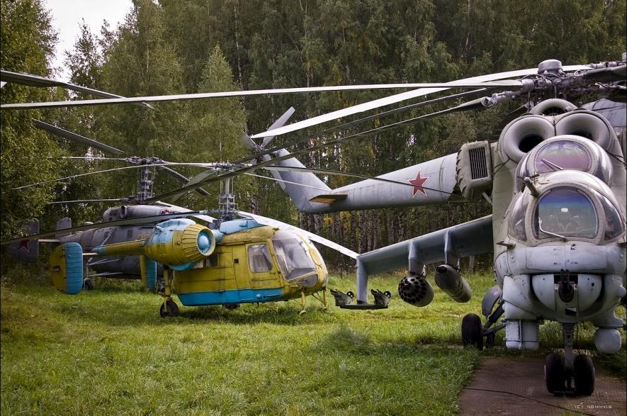 Музей вертолетов в Торжке (40 фото)