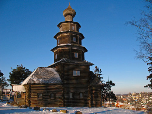 Church Vozneseniya. XVII century. Церковь Вознесения   Торжок