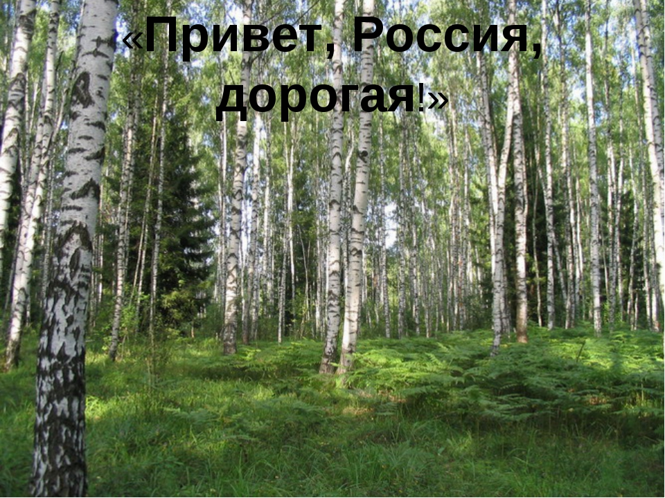 «Привет, Россия, дорогая!»