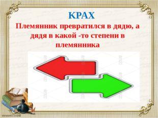 KPAX Племянник превратился в дядю, а дядя в какой -то степени в племянника