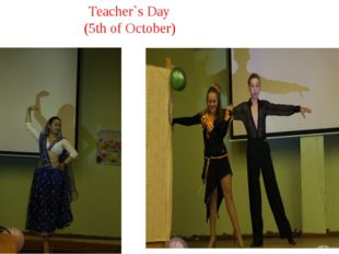 Teacher`s Day (5th of October)