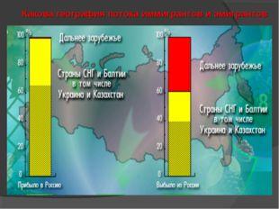 Какова география потока иммигрантов и эмигрантов
