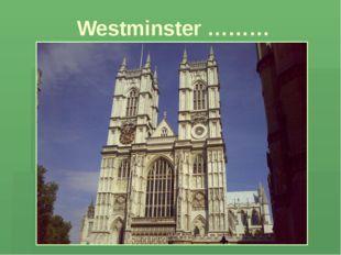 Westminster ………