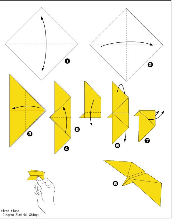 Оригами бабочки из бумаги своими руками схемы