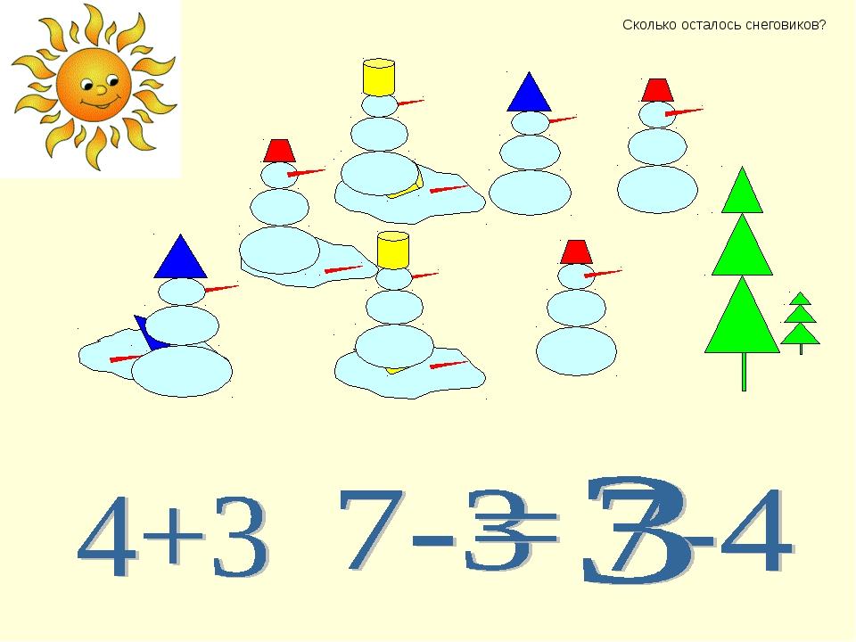 Сколько осталось снеговиков?