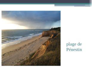 plage de Pénestin