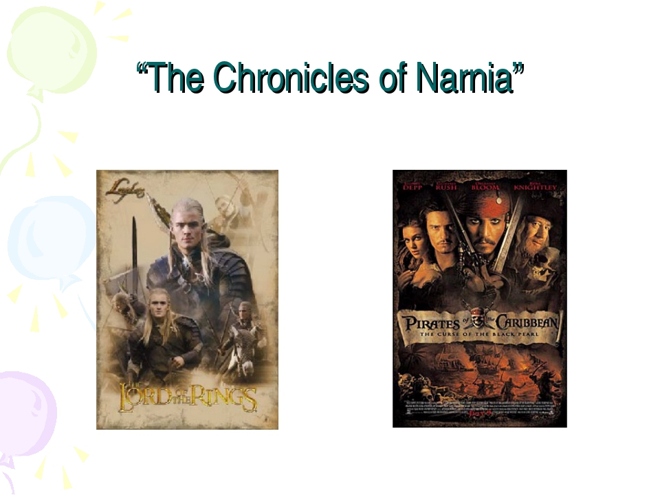 """""""The Chronicles of Narnia"""""""