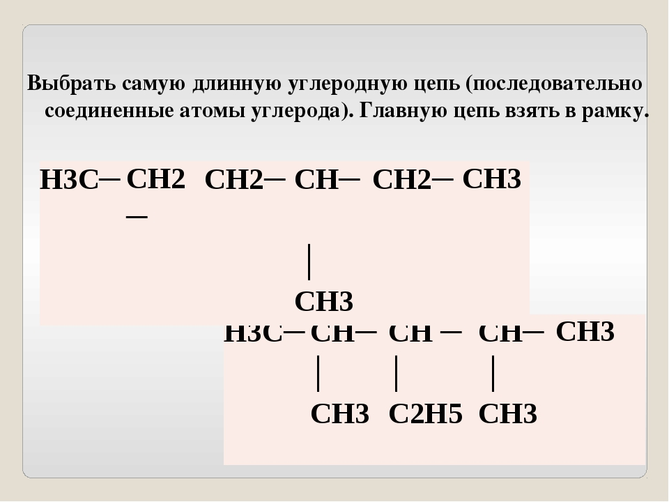 Все атомы или группы атомов оставшихся вне рамки – радикалы, обвести окружнос...