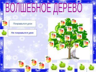 Понравился урок Не понравился урок Рожко Наталья Викторовна