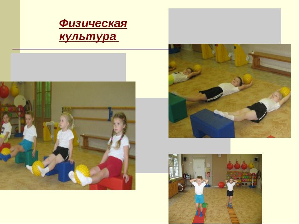 Физическая культура  ...
