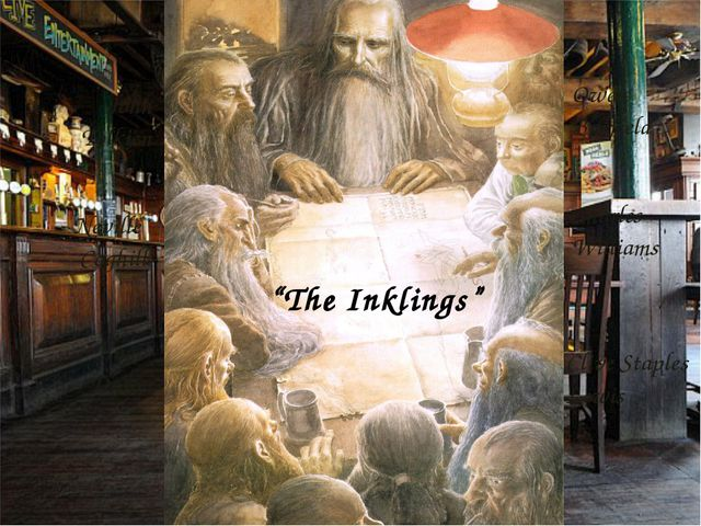 """""""The Inklings"""" Neville Coghill Hugo Dyson Owen Barfield Charles Williams Cliv..."""