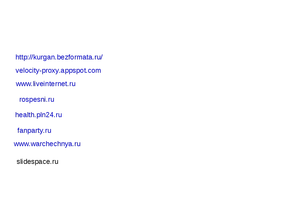 http://kurgan.bezformata.ru/ velocity-proxy.appspot.com www.liveinternet.ru r...