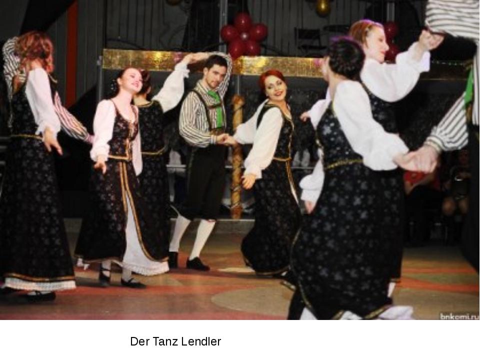 Der Tanz Lendler