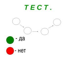 Т Е С Т .