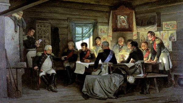 Репродукция картины художника А.Д.Кившенко