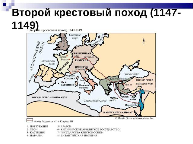 Второй крестовый поход (1147-1149)