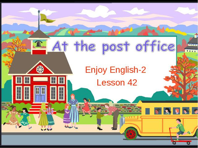 Enjoy English-2 Lesson 42