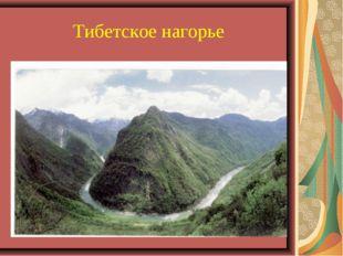 Тибетское нагорье