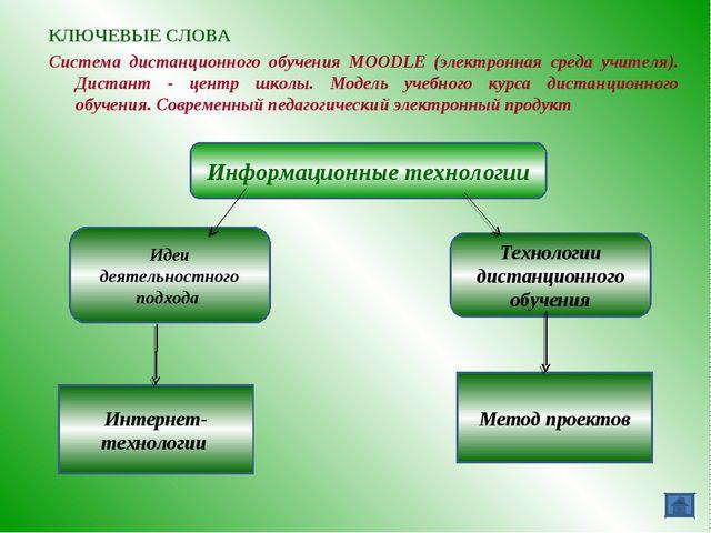 Информационные технологии Идеи деятельностного подхода Технологии дистанционн...