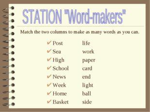 Post Sea High School News Week Home Basket life work paper card end light ba
