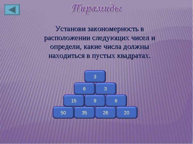 Установи закономерность в расположении следующих чисел и определи, какие числ...