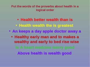 Health better wealth than is Health wealth the is greatest An keeps a day app