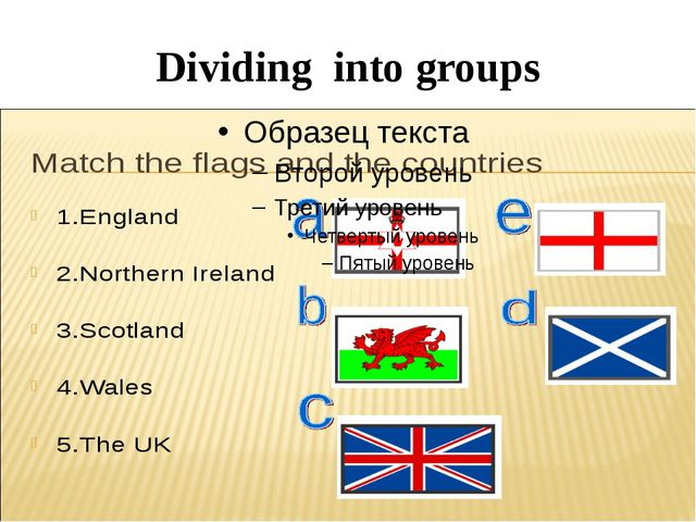 Dividing into groups