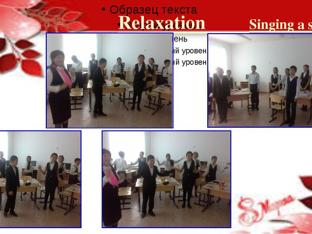 Relaxation Singing a song