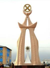 Памятник Дженибеку и Кирею