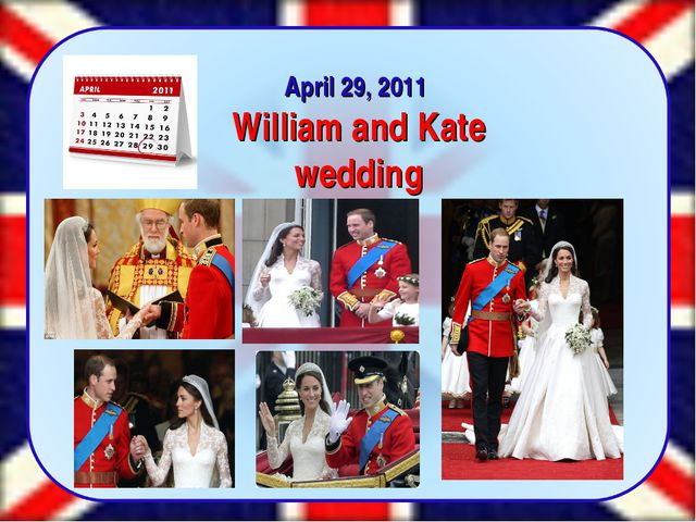 April 29, 2011 William and Kate wedding