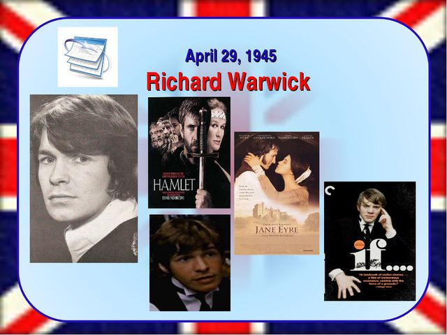 April 29, 1945 Richard Warwick