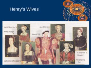 1 2 3 4 5 6 Henry's Wives