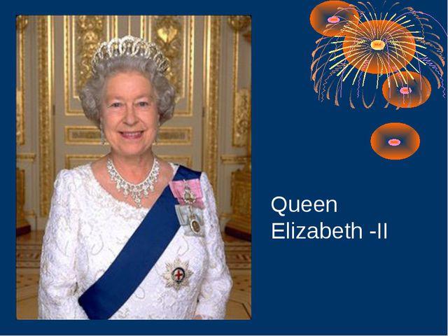 Queen Elizabeth -II
