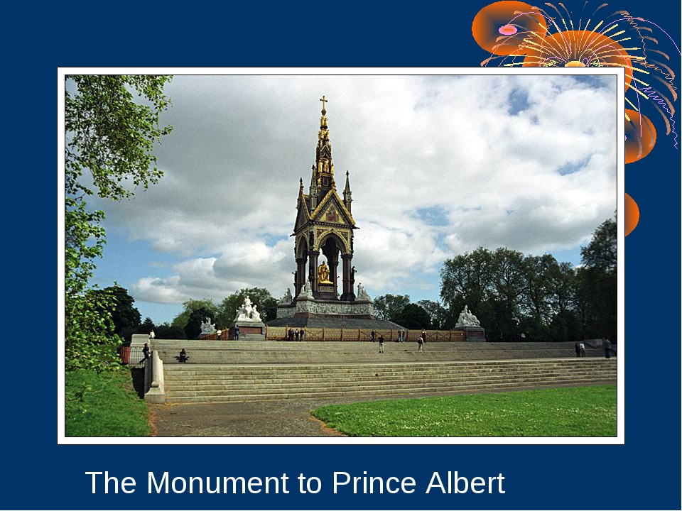 The Monument to Prince Albert