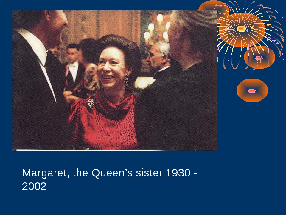 Margaret, the Queen's sister 1930 - 2002